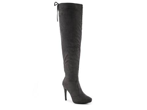 Journee Collection Magic Wide Calf Over The Knee Boot