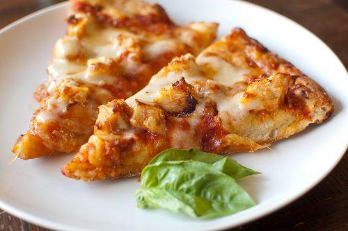 Chicken Parmesan Pizza Delicious Way To Use Leftover Chicken