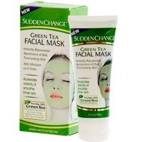 Green tea facial mask