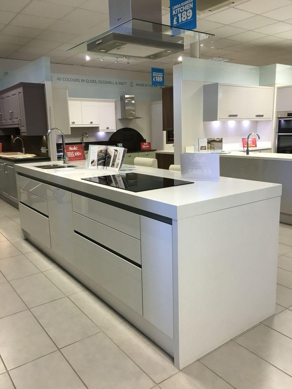 Quartz island   wren kitchens   Wren kitchen, Kitchen design ...