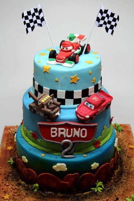 Cars 2 Birthday Cake Cake by Beatrice Maria cars Pinterest