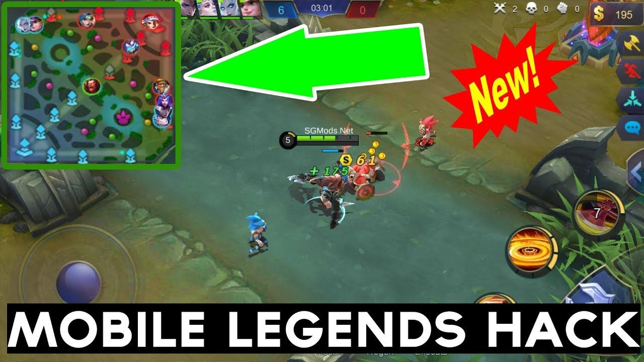 Mobile Legends Hack Cheats Mod APK No Root 2018 - Radar Hack