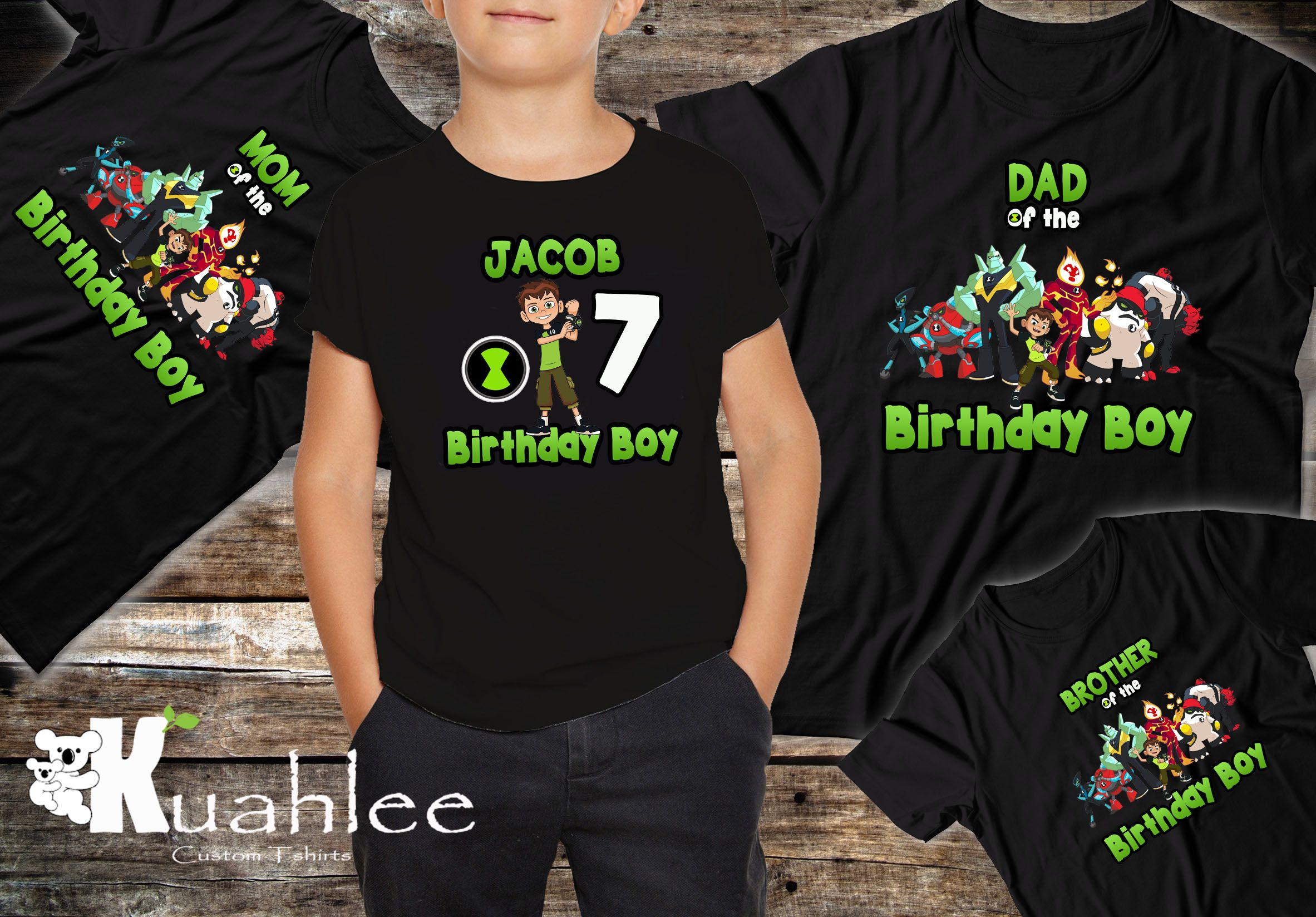 Ben 10 Birthday Boy Shirt Family Shirts Party Theme Ideas