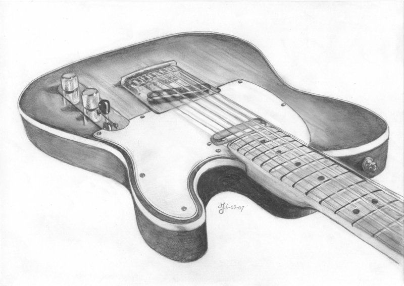 Fender Telecaster By Pompeloen On Deviantart