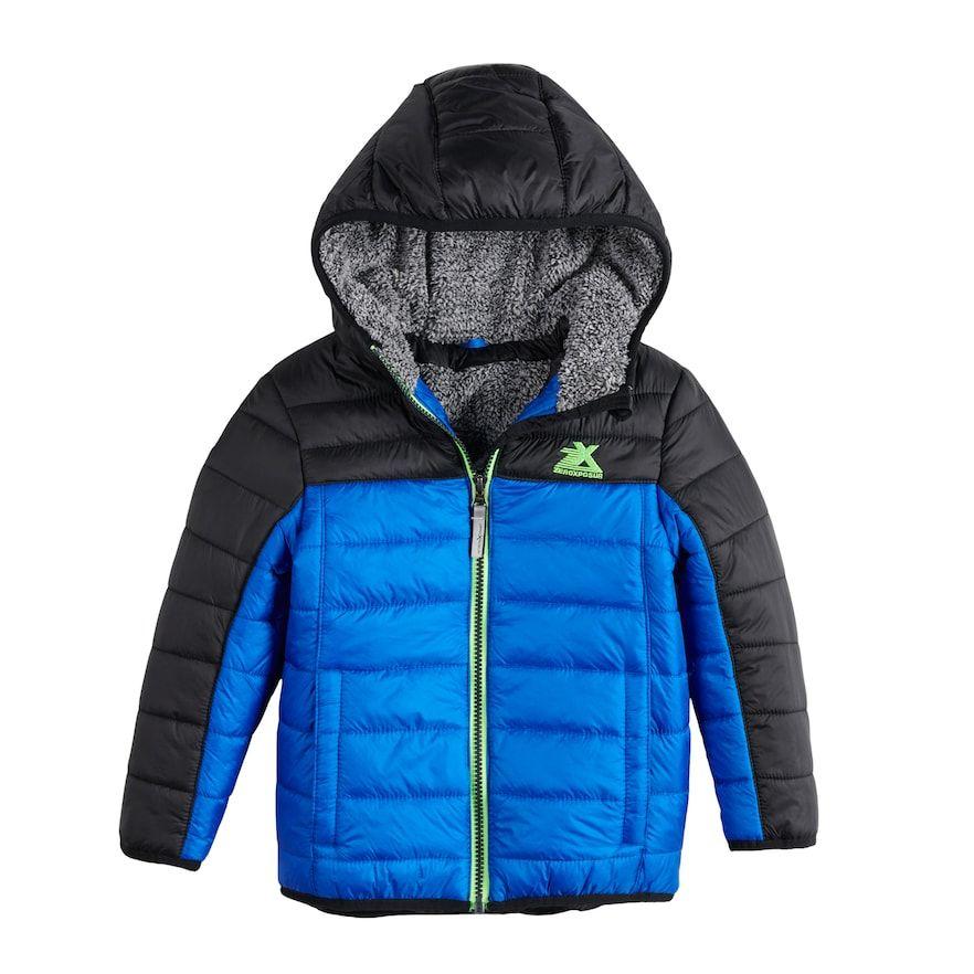 ZeroXposur Girls Feather Hooded Puffer Jacket