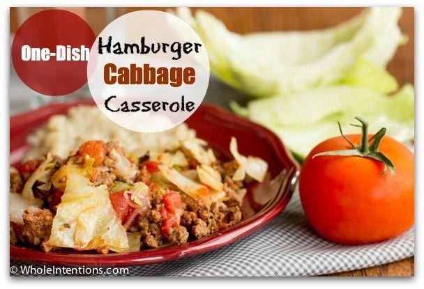 Photo of Hamburger Cabbage Casserole-Hamburger Cabbage Casserole  If …