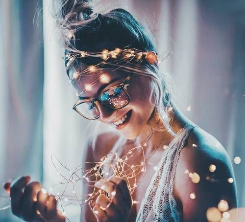 Colours Hipster And Drinks Image Girl Photography Portrait Photography Bokeh Photography