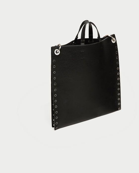 c43544f8a3719 SHOPPER DETALLES TACHAS | Moja szafa | Bag Accessories, Bags i Zara ...