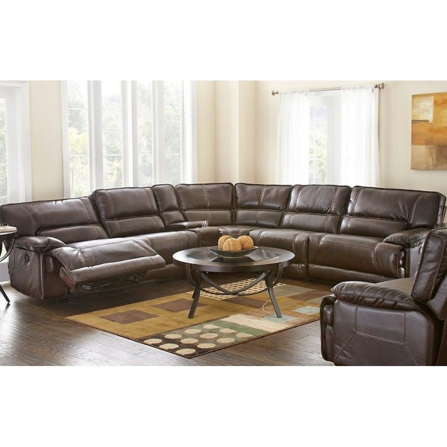 Furniture For Living Rooms: Man Wah Augusta Power Sectional (XW9390)
