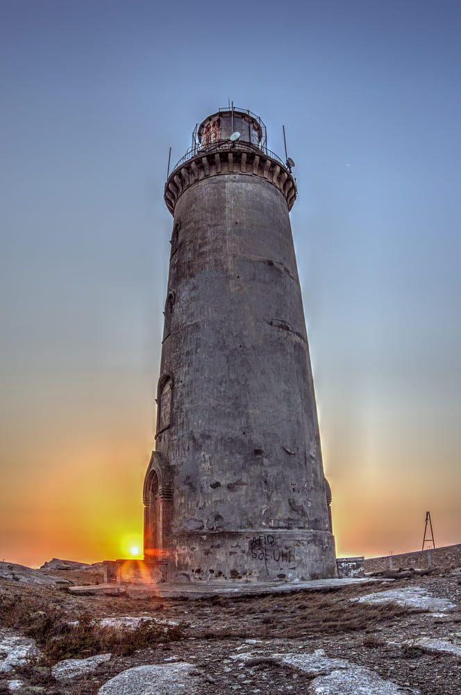Sunrise From Lighthouse In Azerbaijan By Faik Nagiyev Lighthouses Azerbaijan Lighthouse Beacon Lighthouse Pictures Lighthouse Inspiration Lighthouse