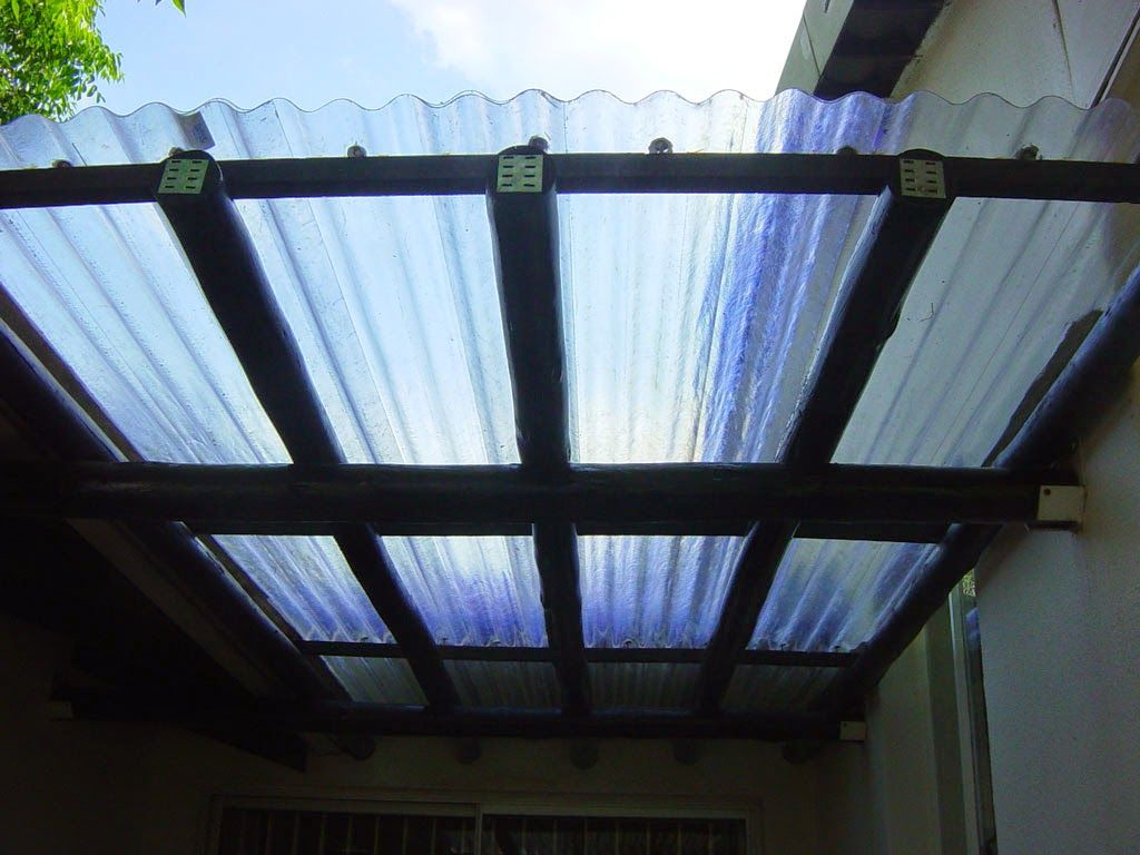 We Are Available To Cover Your Patio Or Carport With An Attractive Roof.  Many Options