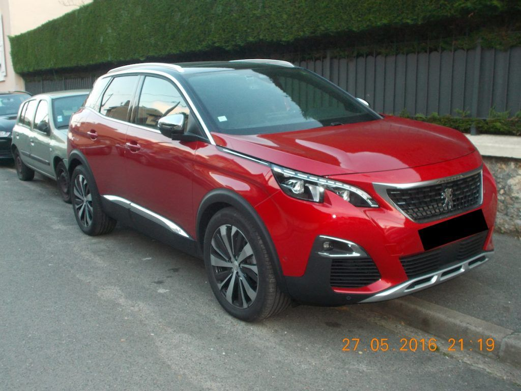 peugeot 3008 spotted in the wild post unveil cars daily updated pinterest peugeot 3008. Black Bedroom Furniture Sets. Home Design Ideas