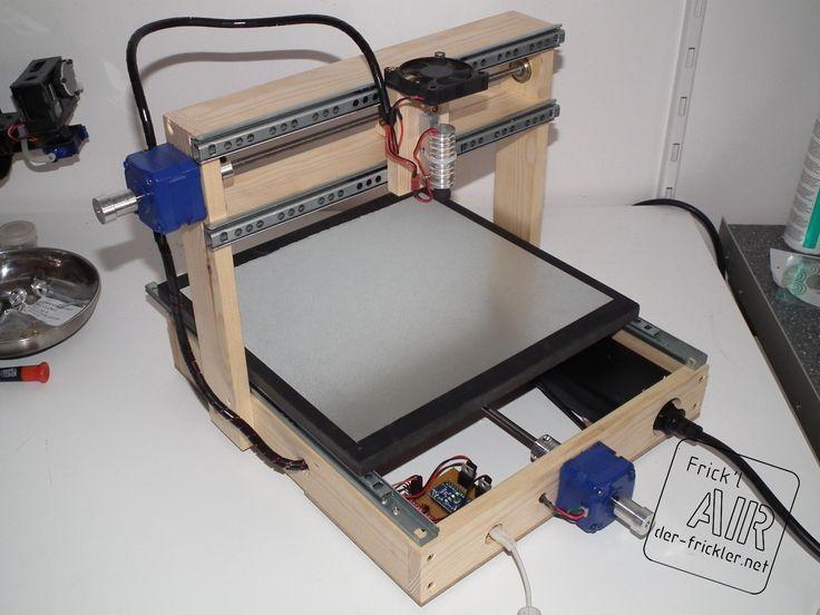 CNC Laser Gravierer Arduino laser