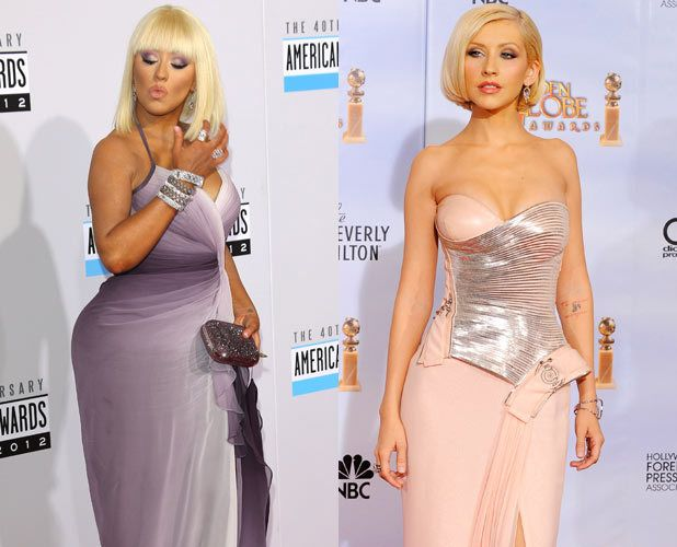 celebrity weight loss and gain 2013