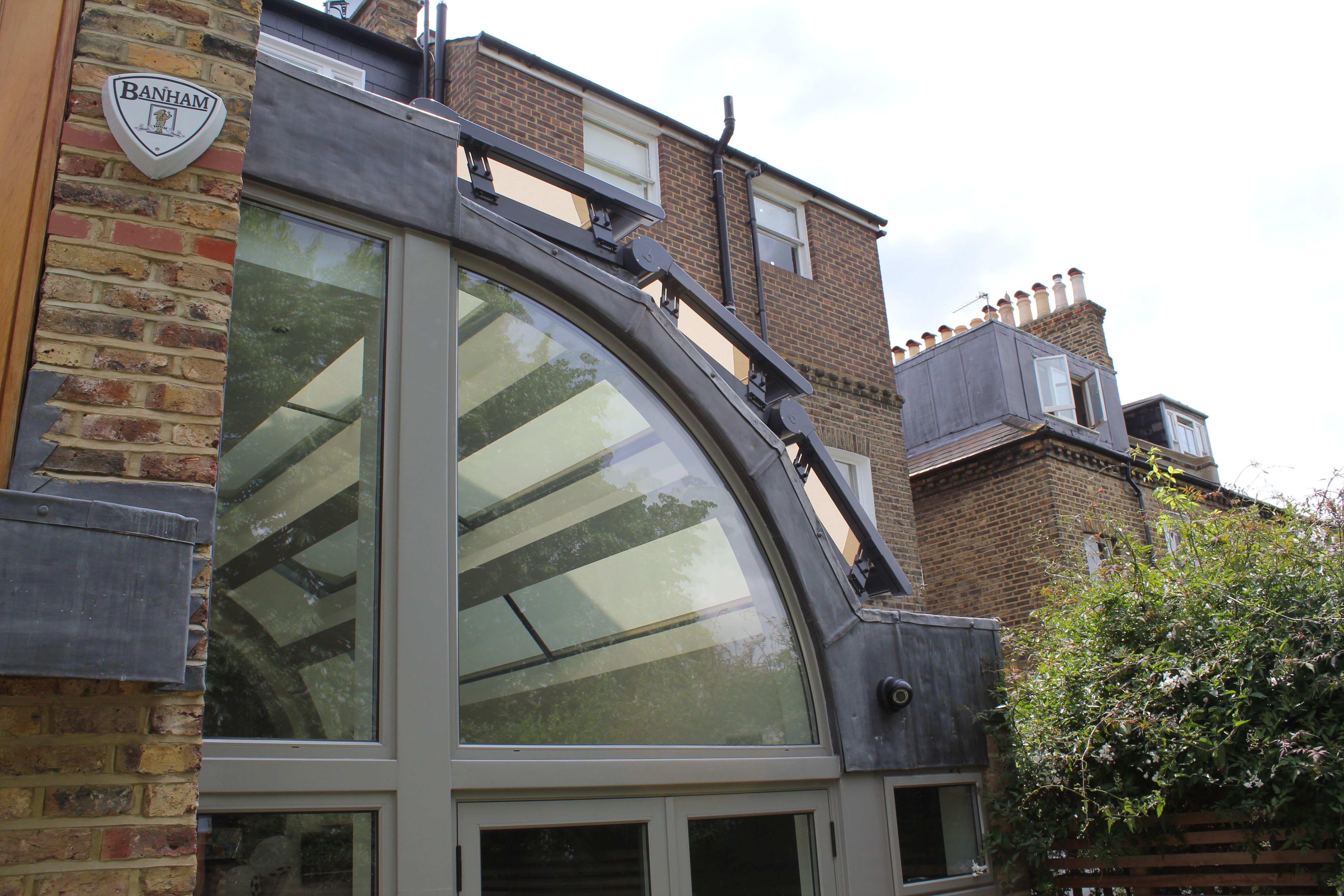 How Our External Roof Blinds Work Caribbean Blinds Fibreglass Roof Patio Roof Roof Architecture
