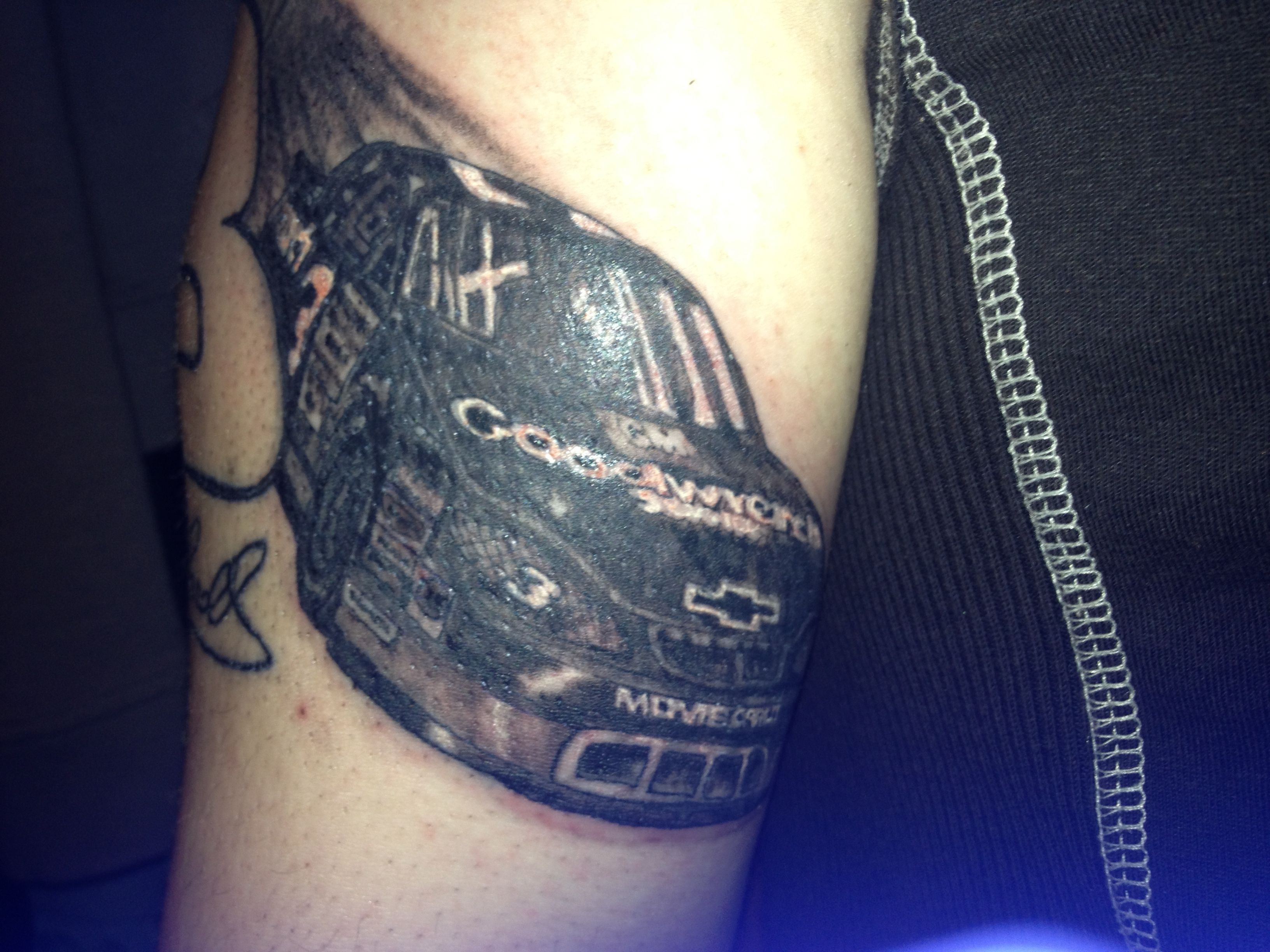 Route 66 tattoo picture at checkoutmyink com - Nascar Dale Earnhardt 3 Car Tattoo