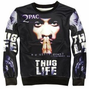 Bluza 2pac Thug Life Unikatowa Rozmiar S M L Xl 5936031249 Oficjalne Archiwum Allegro Mens Sweatshirts Sweatshirts Hoodie Sweatshirts