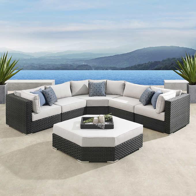 Highland 6 Piece Deep Seating Set Garden Furniture Inspiration