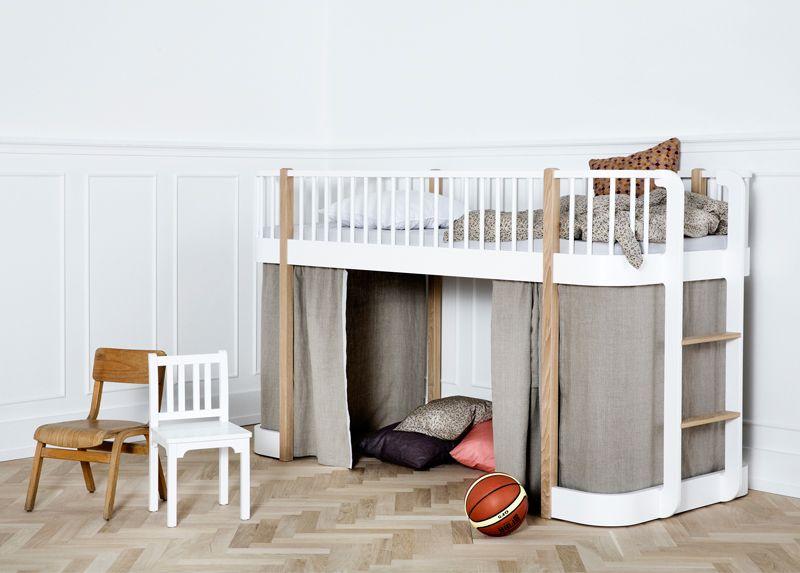 Oliver Furniture Wood Low Loft Bed Buy Online Mood Low Loft