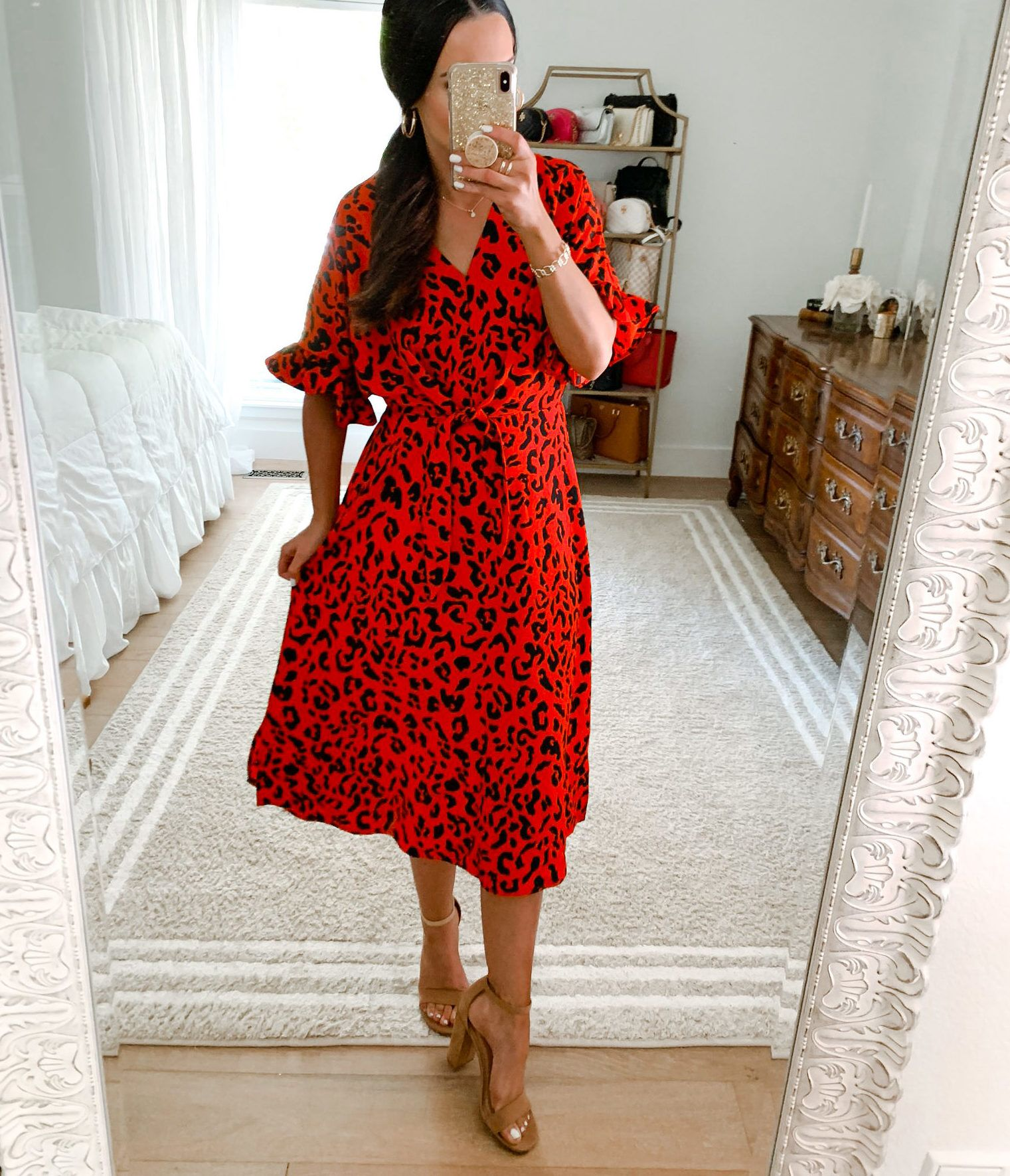 New Target Try Ons The Double Take Girls Midi Short Sleeve Dress Halterneck Dress Camo T Shirt Dress [ 1771 x 1521 Pixel ]
