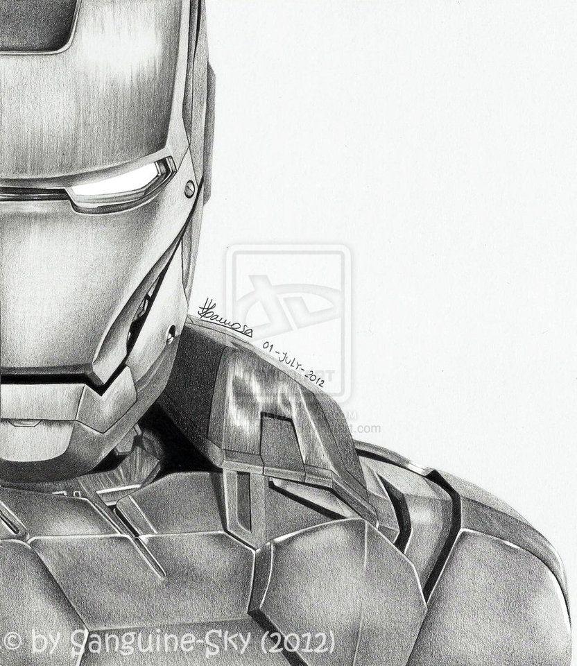 The Avengers half series - Iron Man by ~Sanguine-Sky on deviantART ...