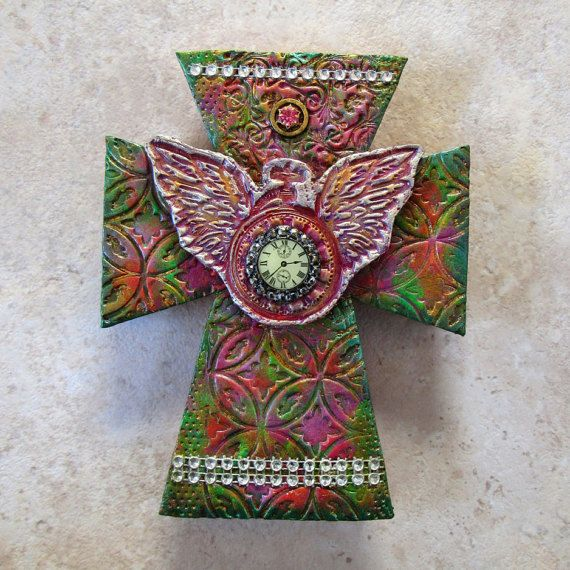 cross - decorative wall cross - home & living - timeflies art ...