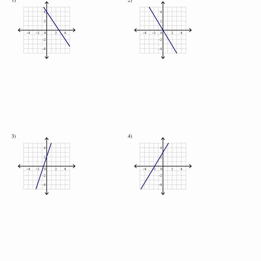 Image Result For Writing Linear Equations Worksheet Answer Key