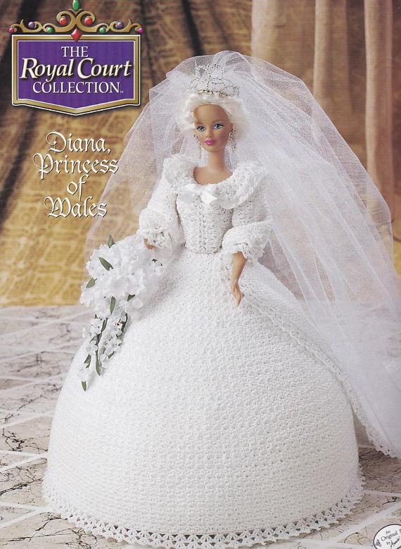 Diana Princess Of Wales Annies Attic Royal Court Crochet Fashion