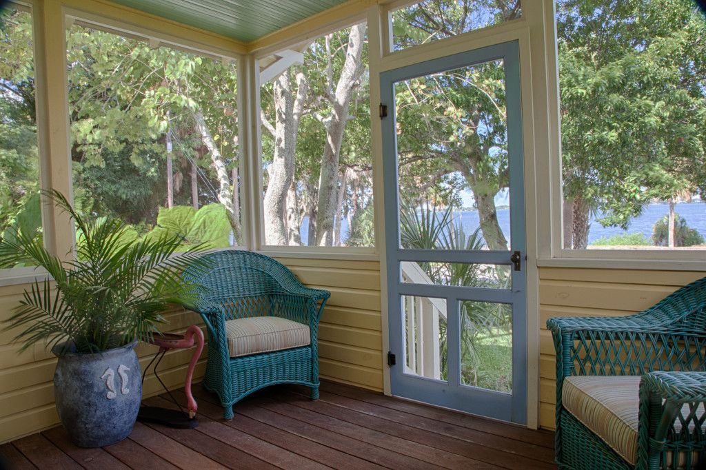 Screen Porch Sleeping Porch Cottage Porch Screened In