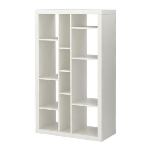 Beautiful EXPEDIT Shelving Unit, White White 35x58 5