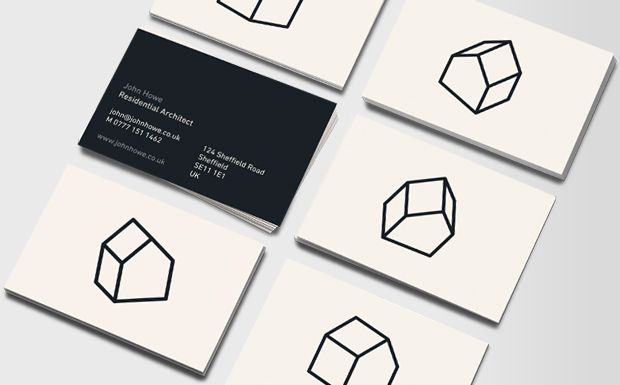 Simple business card arch stuff pinterest simple business i draw houses real estate business card design reheart Image collections