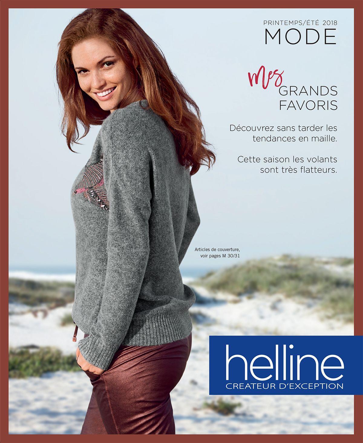 Nouveau catalogue mode femme avec Helline pour le printemps été 2018! à recevoir gratuitement sur catalogues.fr