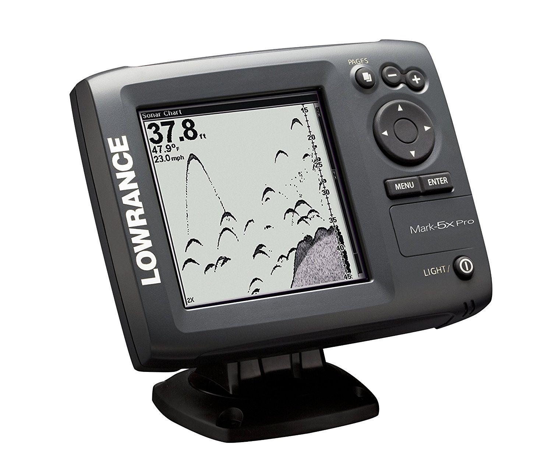 Lowrance Mark5x Pro 5Inch Waterproof Fishfinder