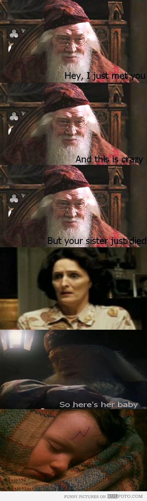 Dumbledore joke