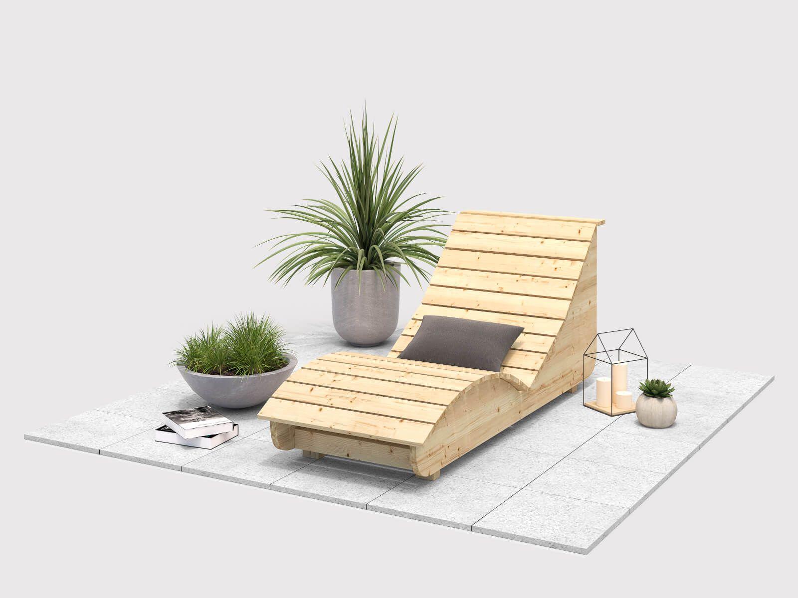 Tavoli Da Giardino In Legno Obi.Wellenliege Lena Selber Bauen Alle Mobel Idee