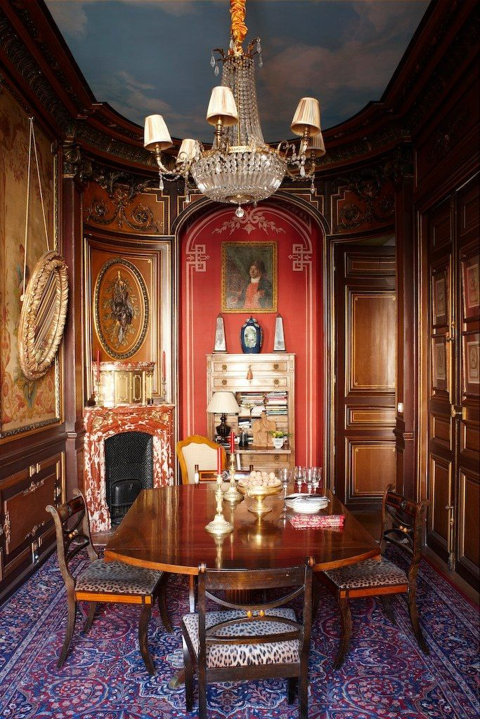 Chateau De Grand Luce France Decorator Timothy Corrigan