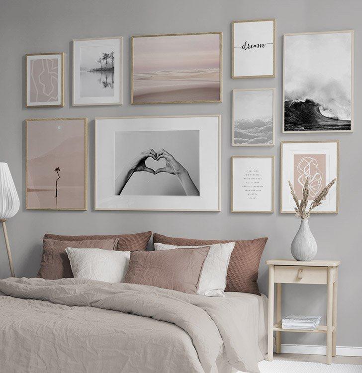 Billedvaeg I Sovevaerelse Indretning Og Plakater Til Sovevaerelset Sovevaerelsesdesign Sovevaerelsesideer Stue Vaeg