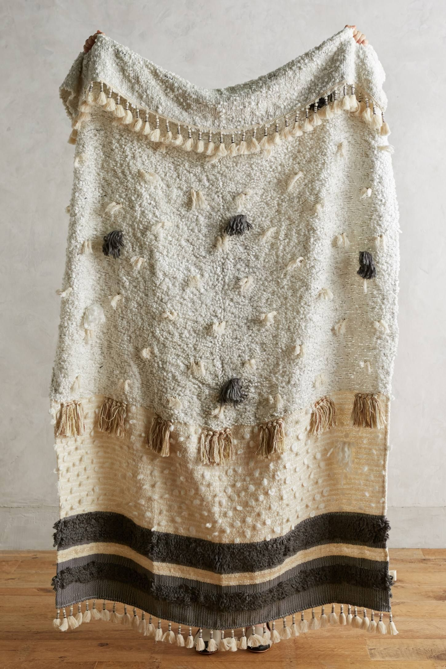 Anthropologie Open Market Throw Collaboration with ALL ROADS