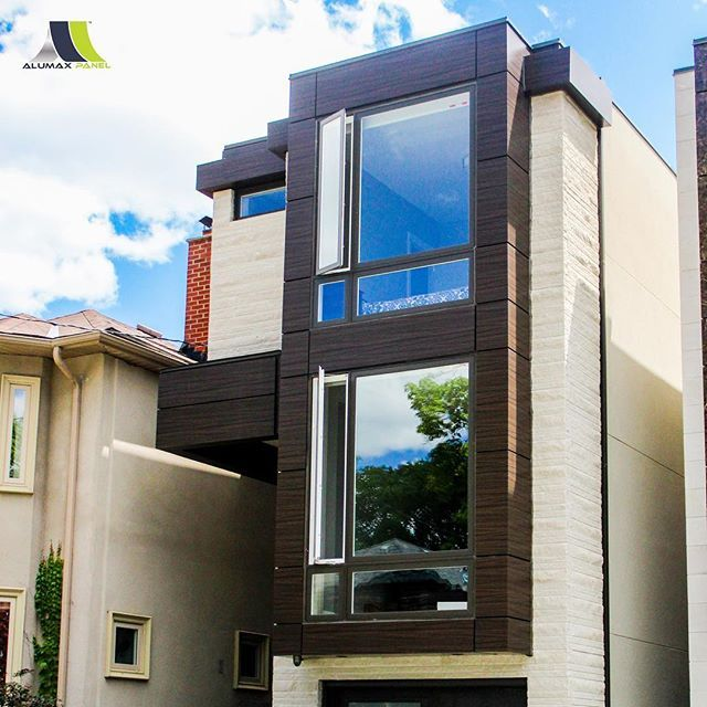 Home Modernhouse Design: Aluminum Composite Panels Are Completely Revolutionizing