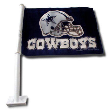 NFL Dallas Cowboys Car Flag, Blue