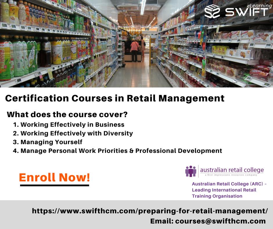 Retail Management Training Program Online Courses This
