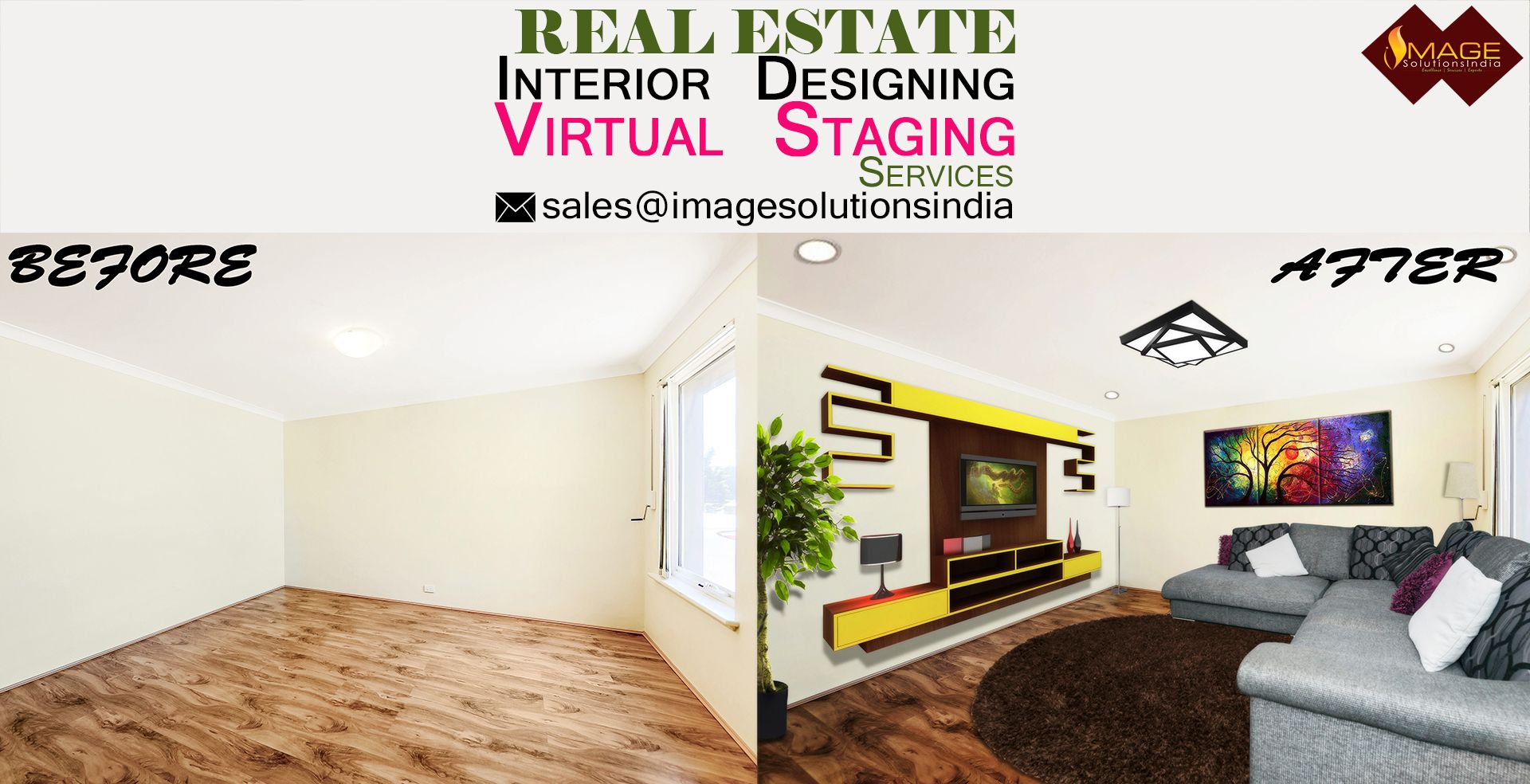 Photoshop interior design services in UK and virtual staging ...