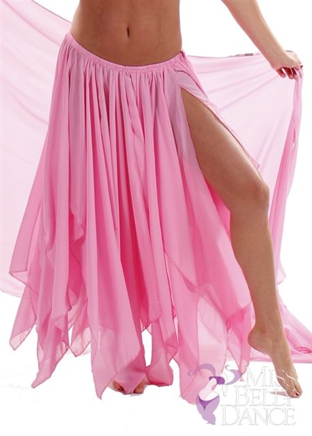 a48e68e8a6 I've been wanting to make a chiffon skirt like this but just the fabric  alone costs more than this one from missbellydance.com.