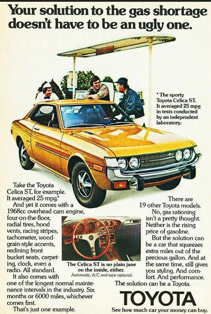 1974 Toyota Celica Toyotaclassiccars (With images