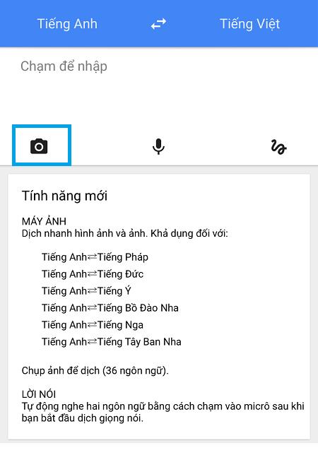 Tải Ứng dụng Google dịch cho điện thoại Android, iOS
