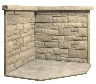 Another Corner Hearth Setup For The Home Pinterest