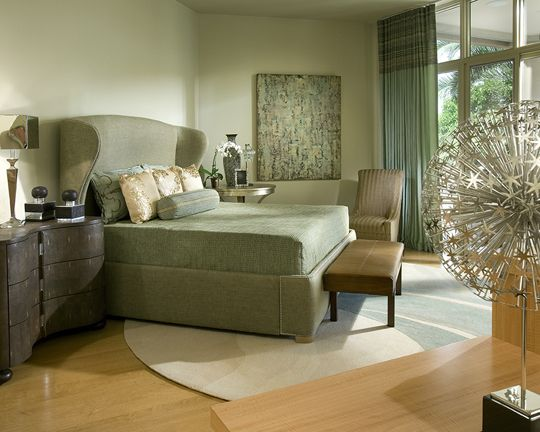 A Serene Color Palette Of Spa Blue And Warm Robinwood Floors