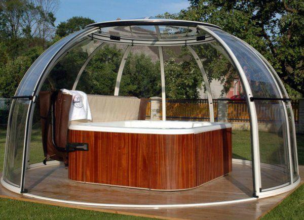 whirlpool im garten g nnen sie sich diese besonde art entspannung garten pinterest. Black Bedroom Furniture Sets. Home Design Ideas