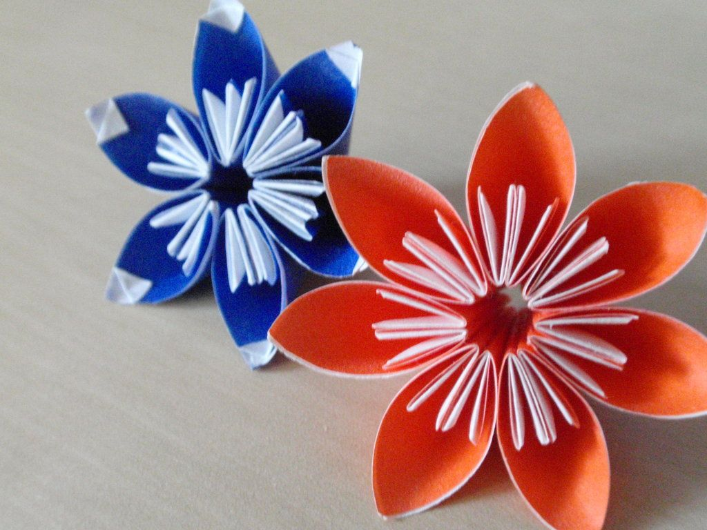Simple Origami Flowers By Revenia On Deviantart Origami