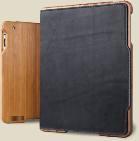 Bamboo iPad case from grove.
